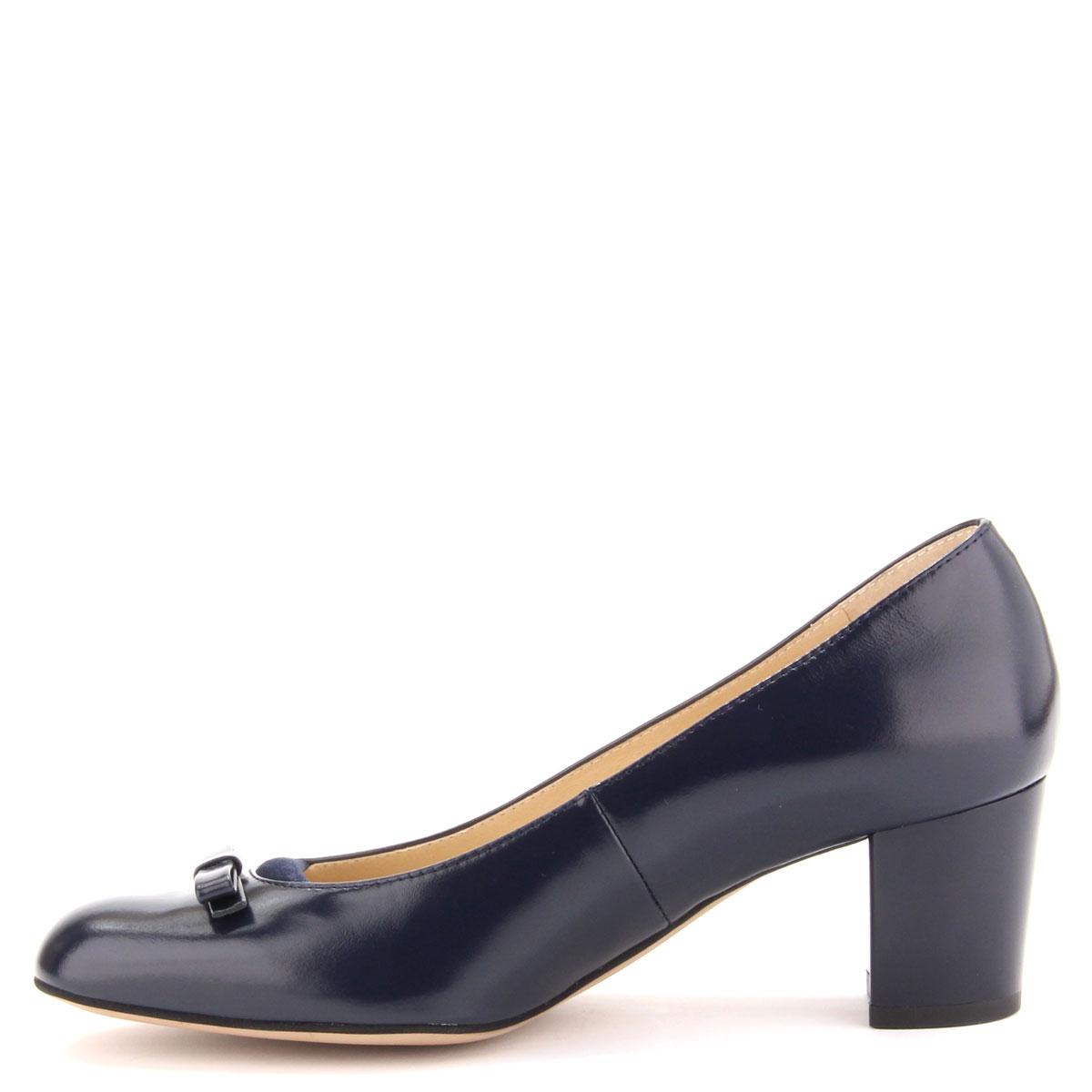 Sötétkék Anis női cipő