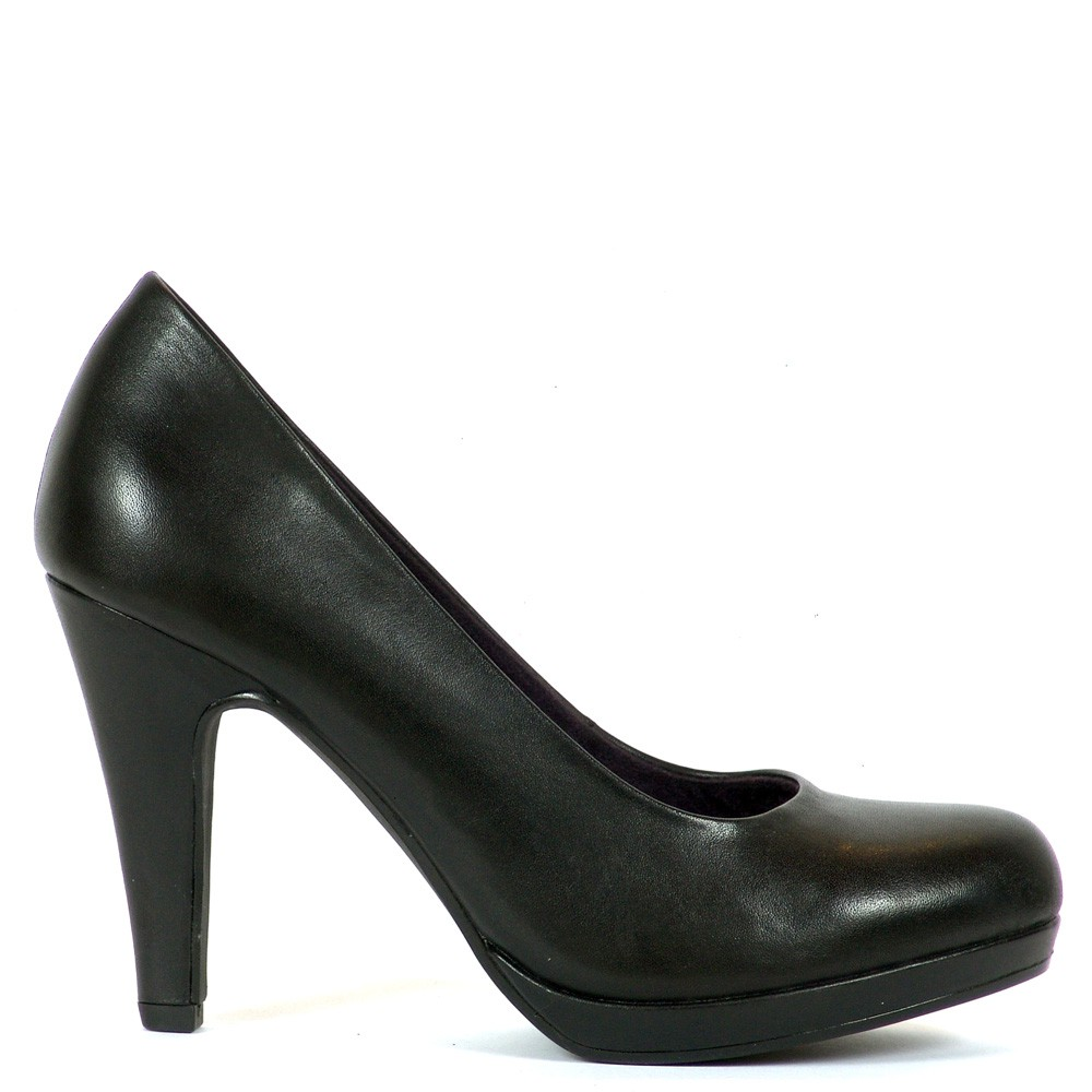 7cd087d0af Magas sarkú platformos Marco Tozzi cipő. Sarka 9,5 cm magas, talpa 1 ...