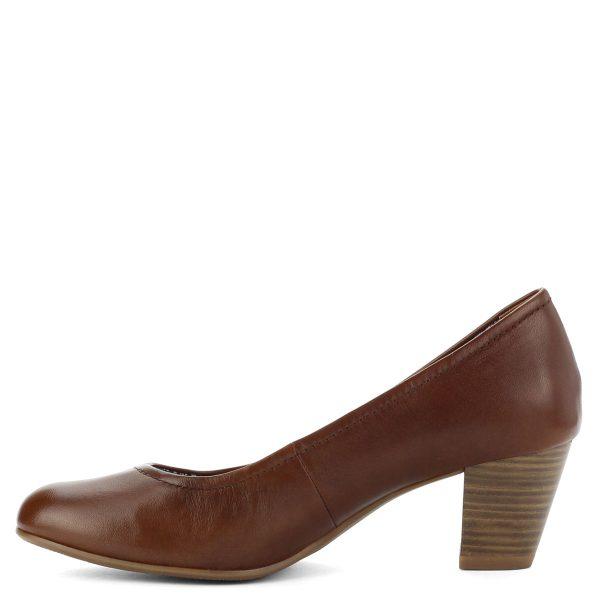 Kényelmes Tamaris cipő stabil, 6 cm magas sarokkal, puha memóriahabos Touch It talpbetéttel