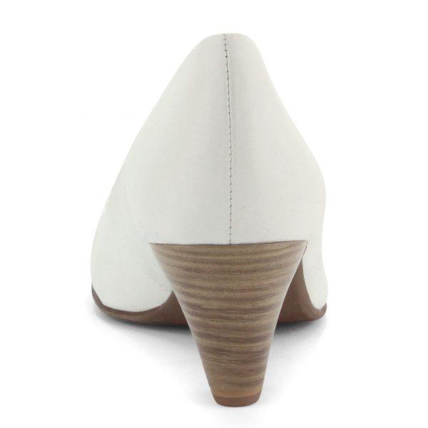 Törtfehér Tamaris cipő 6 cm magas ANTiShokk sarokkal. Talpbélése puha memóriahabos Touch It bélés. Márka: Tamaris Szín: OFFWHITE Modellszám: 1-22400-26 109