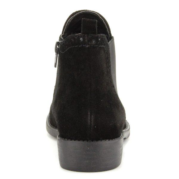 Lapos fekete Tamaris bokacsizma velúr bőr felsőrésszel. Márka: Tamaris Szín: Black Modellszám: 1-25493-25 001