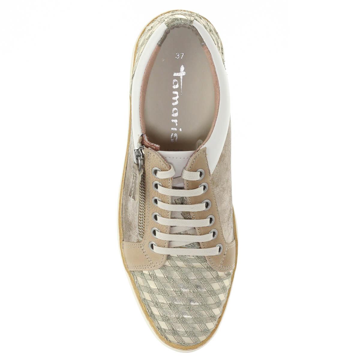 Arany színű Tamaris sneaker