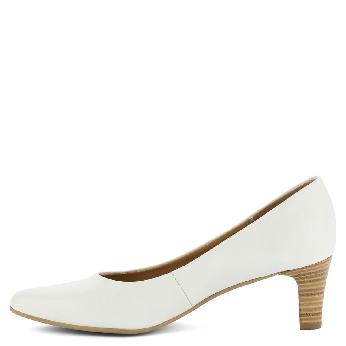 ... Fehér Tamaris cipő 6 cm magas sarokkal. Klasszikus 32393dee3a