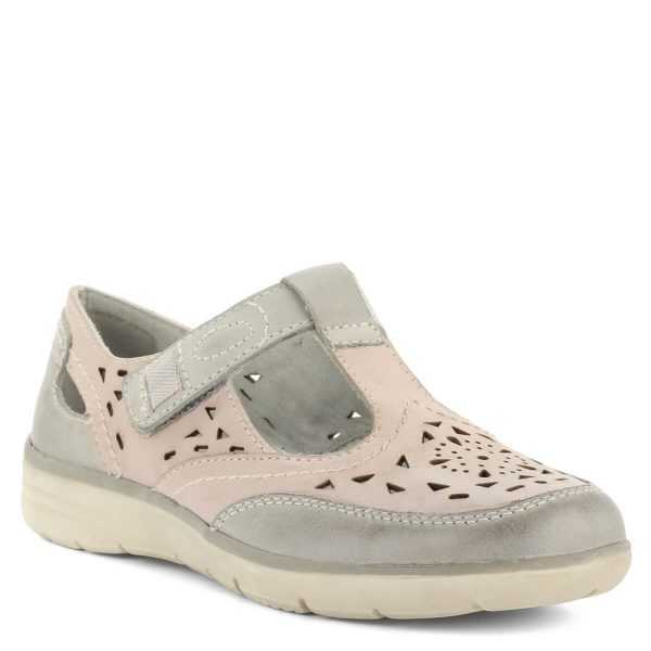 Lapos Jana tépőzáras cipő hajlékony gumi talppal, szellős felsőrésszel