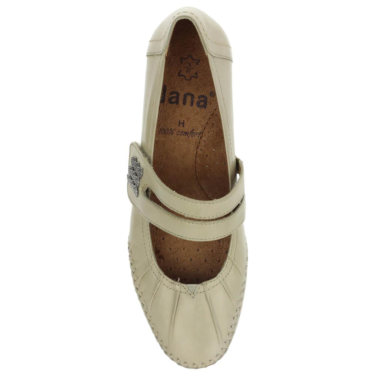 Puha · Pántos Jana cipő világos szürke színben. 3 6bf8cb3702