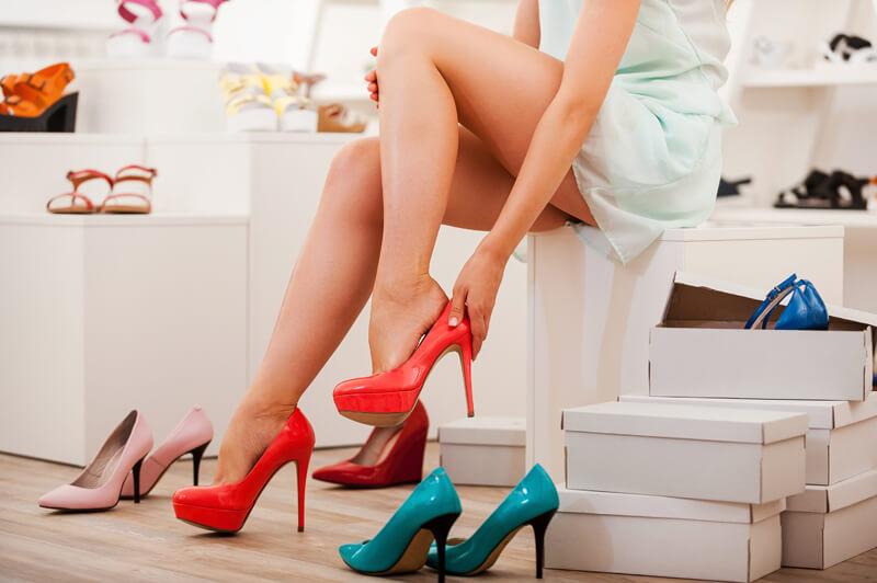 Válaszd ki a megfelelő ruhát, mielőtt cipőt próbálsz