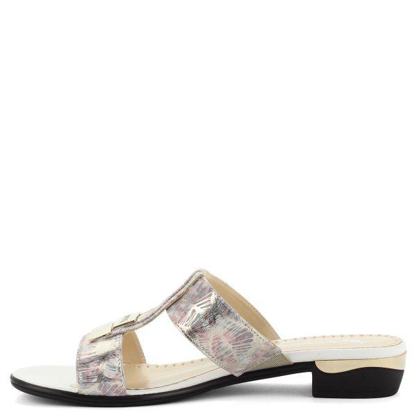 Doctors rózsaszín bőr papucs bőr béléssel, 3 cm-es magasságú sarokkal. - ChiX Női Cipő Webáruház
