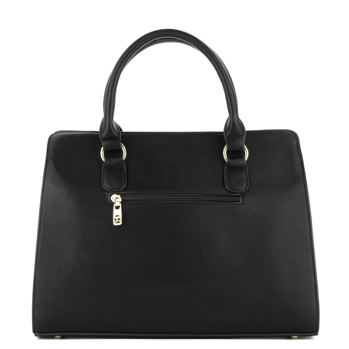ChiX Női  Fekete Nobo női táska osztás nélküli nagy belső térrel 6814a658b7