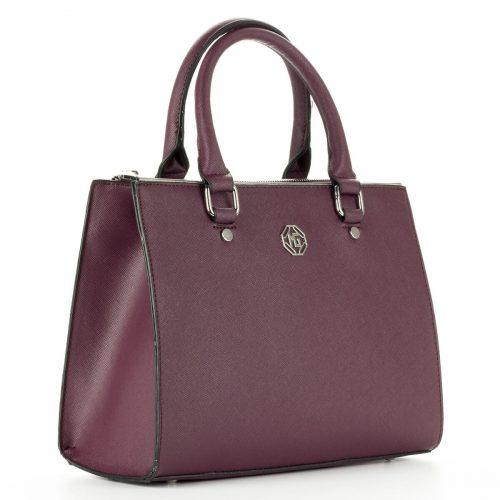 Kis méretű Marina Galanti táska két cipzáros rekesszel. Belseje osztatlan, hosszú vállpánt tartozik a táskához - ChiX Női Cipő- és Táska Webáruház