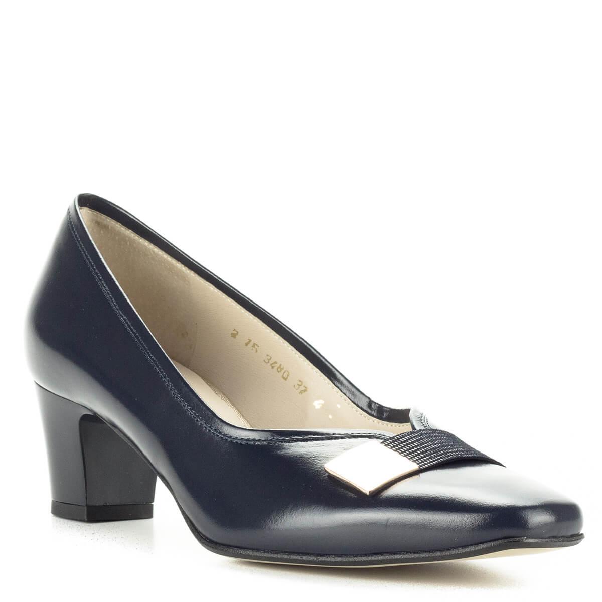 Hivatalos Női Cipők Női Utcai Cipők Anis cipő sötétkék kis