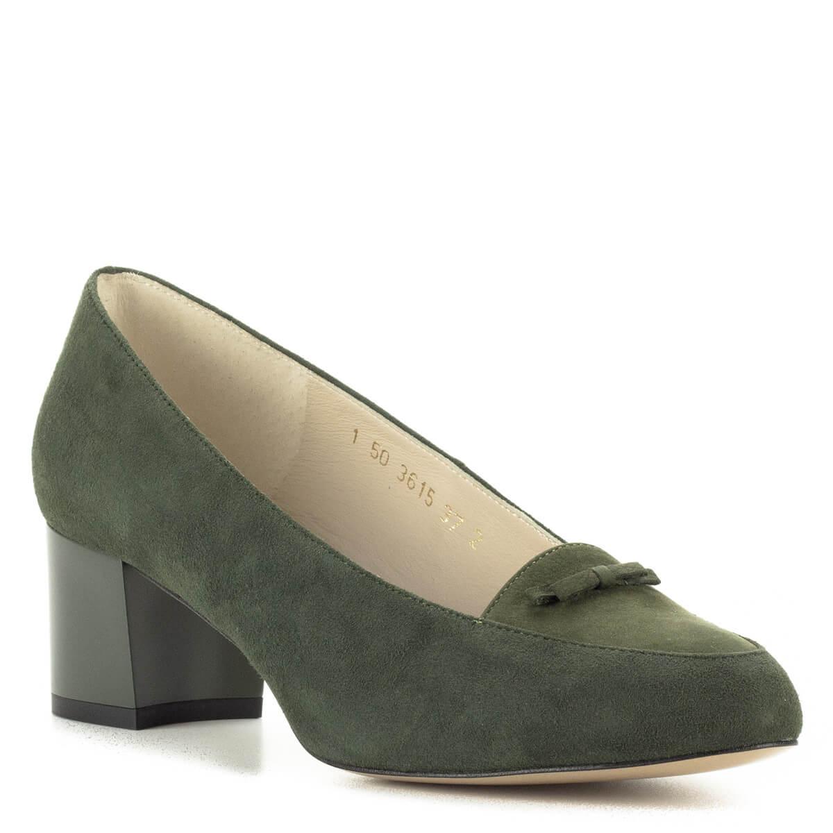 ... Anis zöld női cipő velúr bőrből 87783ce439