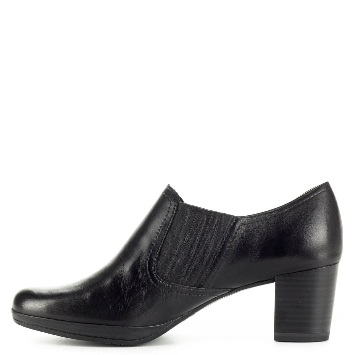 8a572fbb05 ... Marco Tozzi zárt magassarkú cipő 5,5 cm magas AntiShokk sarokkal, vastag  platformos talppal