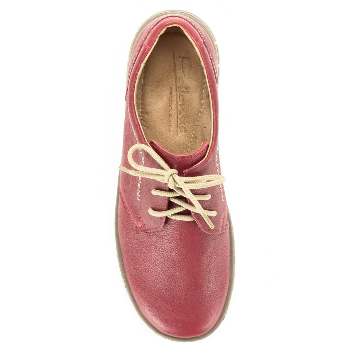 b24f867a50 ... Pollonus fűzős komfort cipő puha talpbéléssel. Felsőrésze és bélése  egyaránt bőrből készült, talpa hajlékony ...