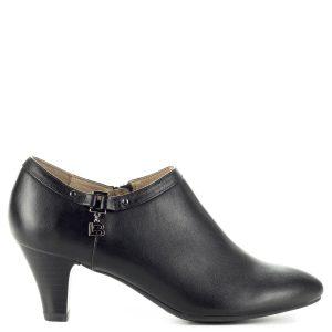 Fekete Belle bőr cipő 6 centis sarokkal 9ee106acd6