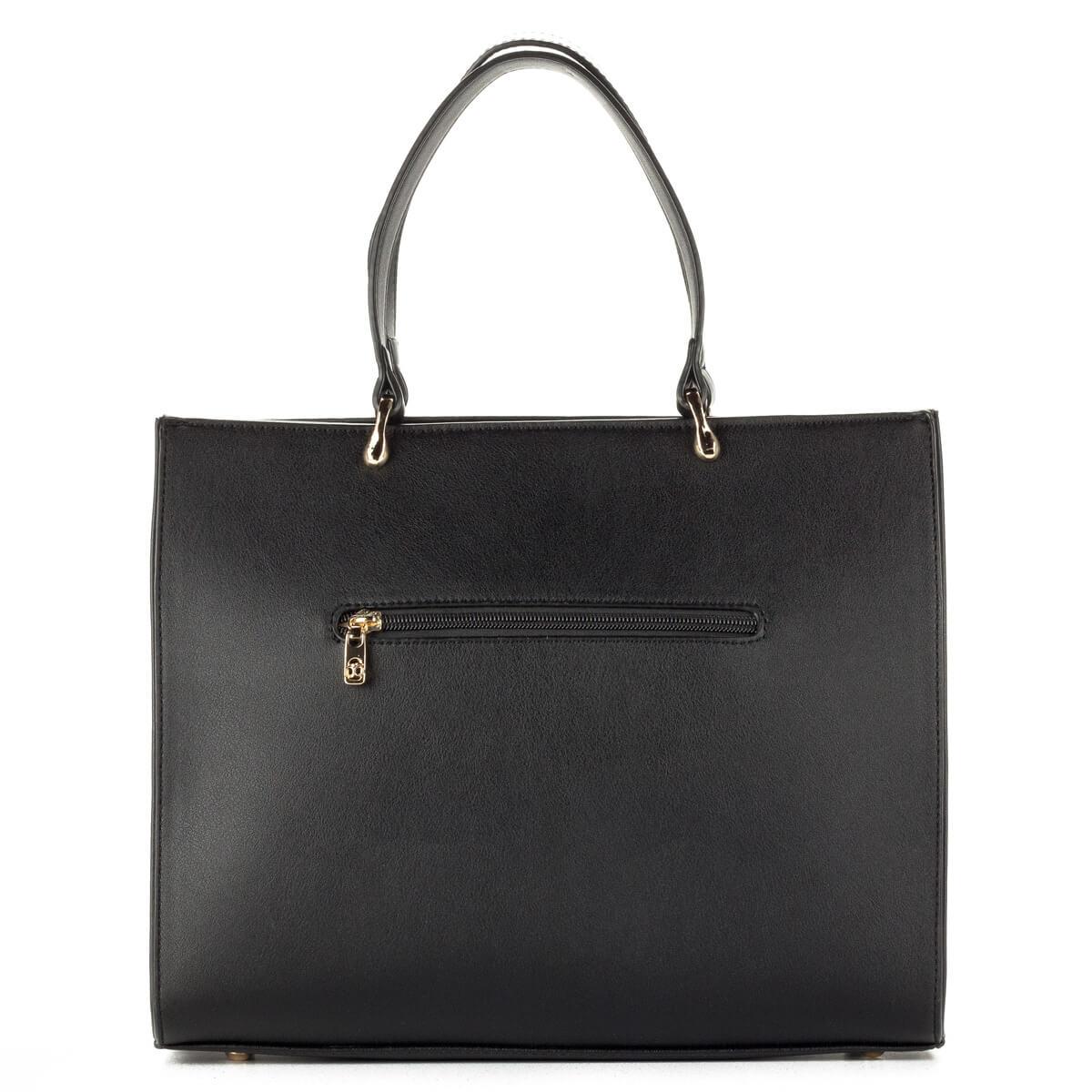 Fekete Nobo táska egybefüggő belső térrel 9411dc3765
