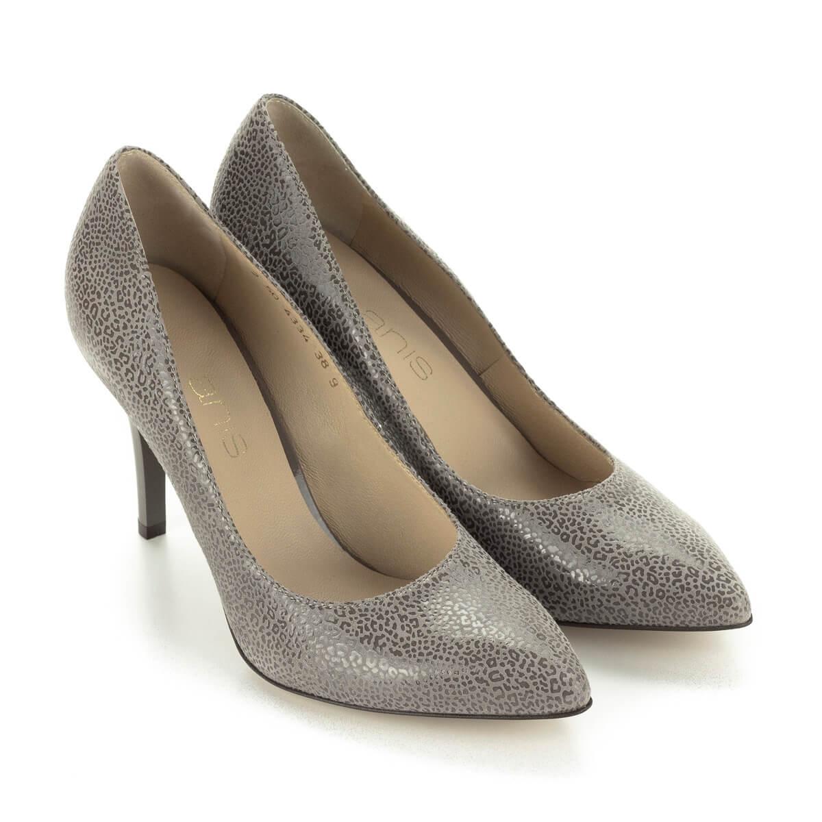 Elegáns magas sarkú Anis cipő különleges mintázatú bőr felsőrésszel. Csinos  női körömcipő hegyes orral eb52b6b911