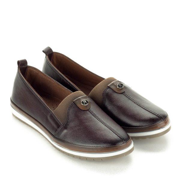 Anna Viotti barna bőr cipő bőr béléssel.Kényelmes kerek orrú cipő. Cipő webáruházunkból ingyenes kiszállítással rendelhető.