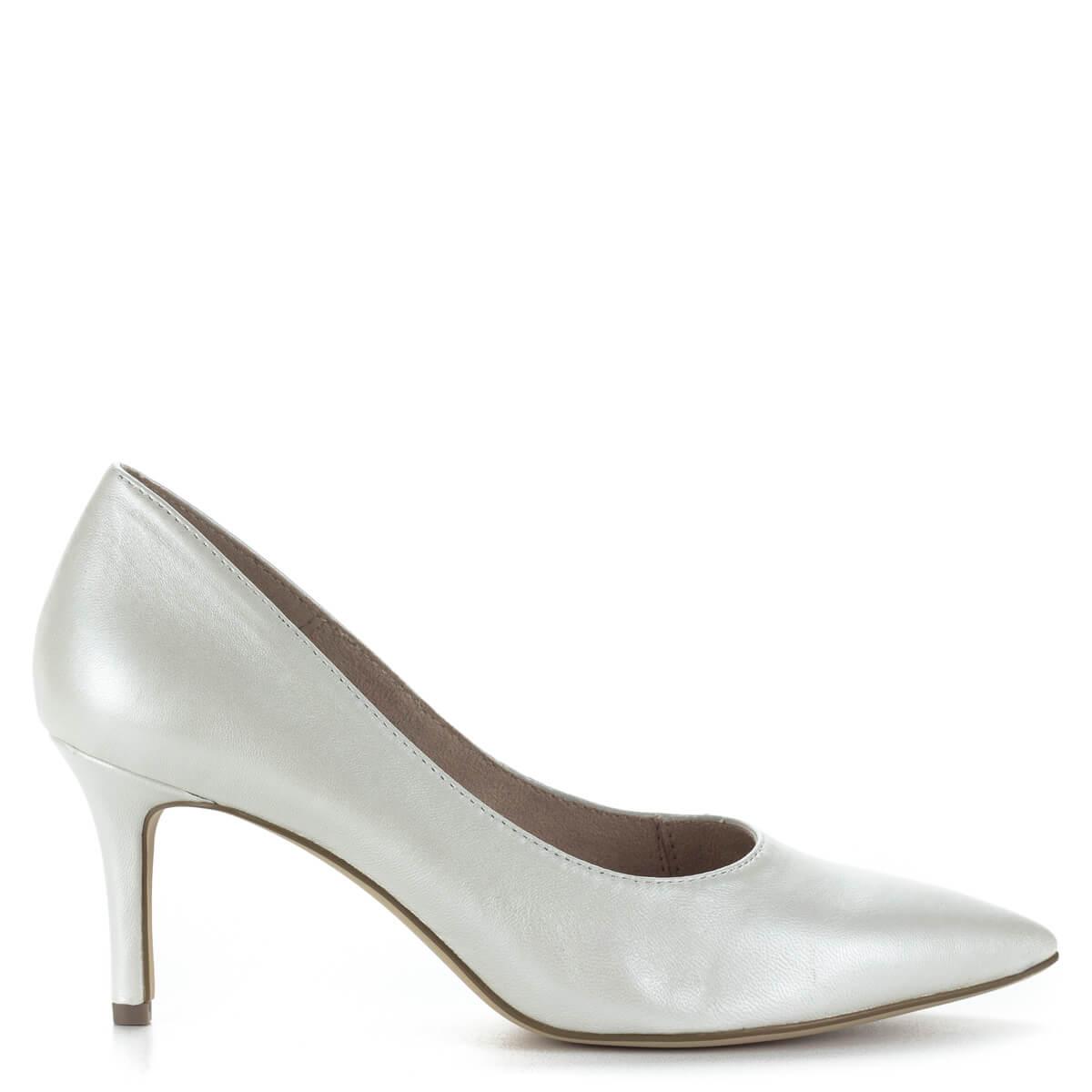 ... Fehér Tamaris magassarkú cipő 7 centis sarokkal 87f6074716