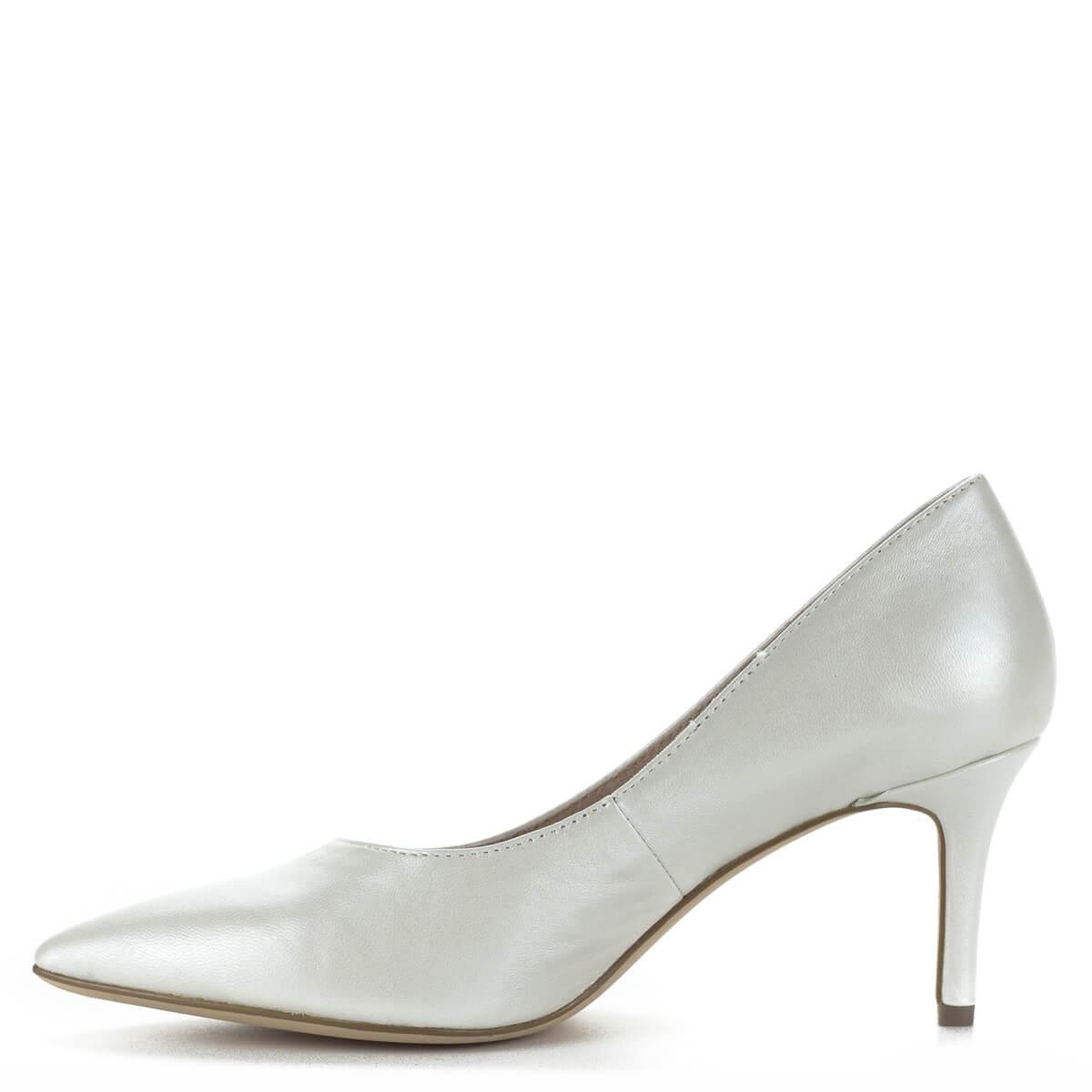 ... Fehér Tamaris magassarkú cipő 7 centis sarokkal fa8e56cab0