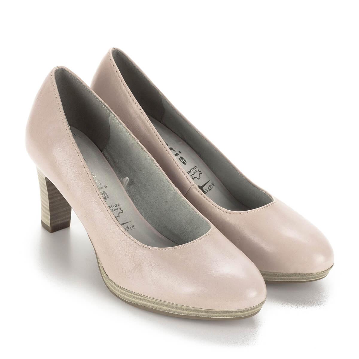274bccc3874b Tamaris platformos magassarkú cipő 7,5 cm-es sarokkal, rózsaszín színben.