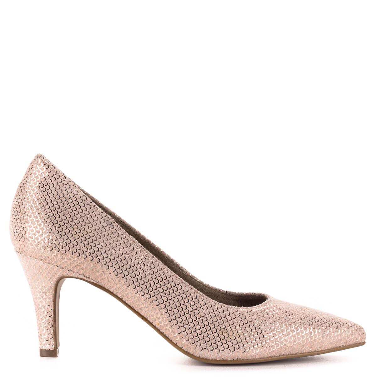 Tamaris rózsaszín alkalmi cipő