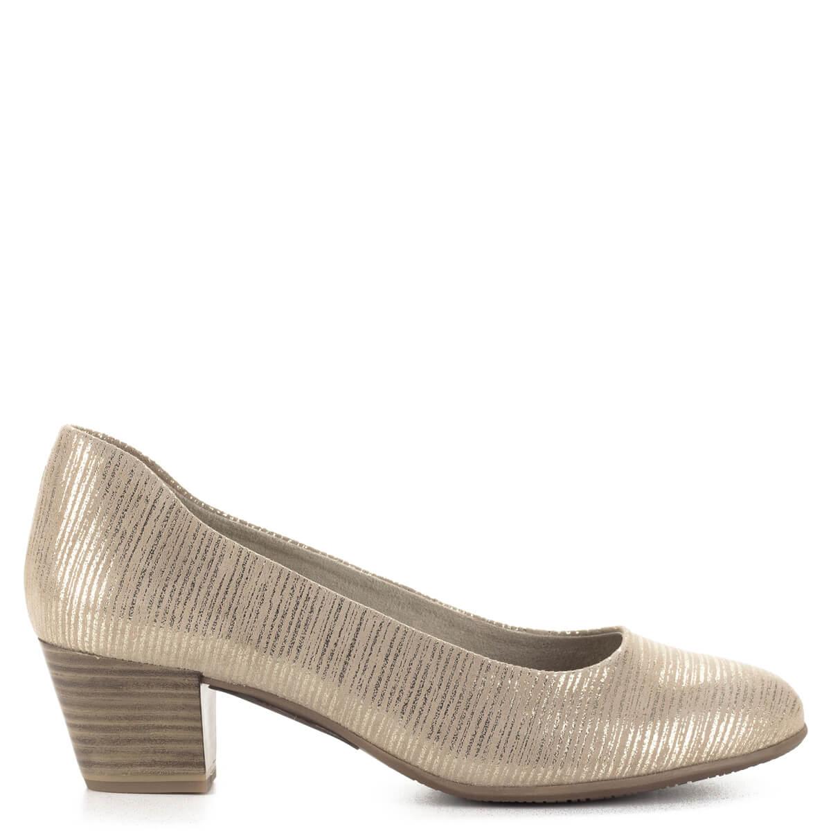 ... Tamaris cipő bézs-arany színben 4 5bc2ec37e8
