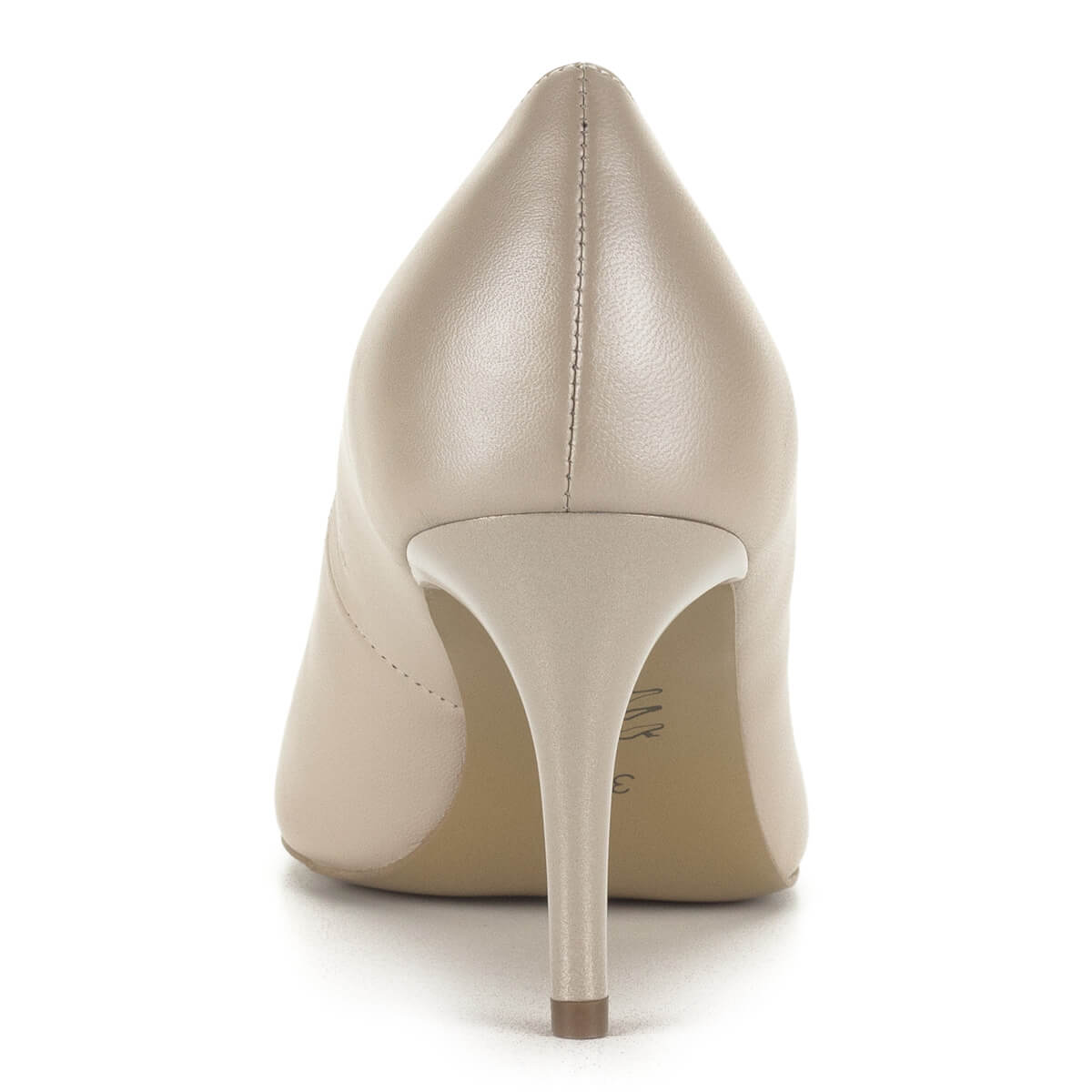 ... Anis gyöngyház fényű bézs magassarkú cipő 7 2cdcd36bcb