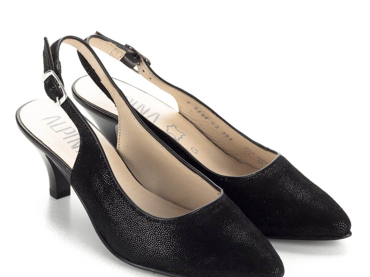 Alpina cipő Elegáns női bőr cipők G és H szélességben