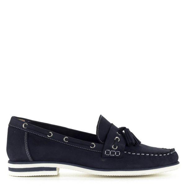 Kék Caprice bőr mokaszín fehér gumi talppal Klasszikus nyári fazon, felsőrésze és bélése is bőr. Megrendelésedet ingyen szállítjuk!