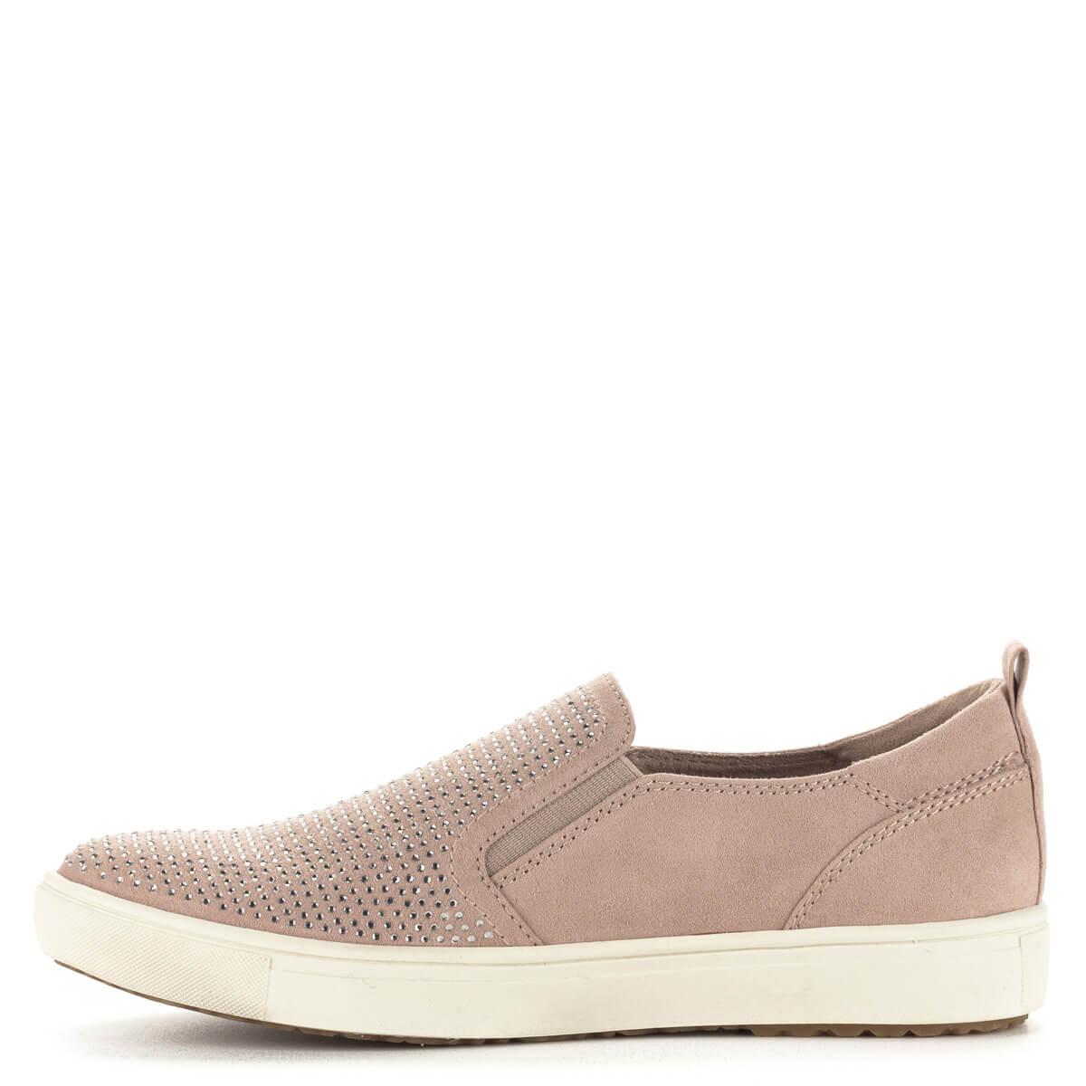 cipő cipő Két díszített Tamaris rózsaszín strasszokkal oldalt Lapos Lapos  Lapos 8qxU6zEww 8b91ecd0cc