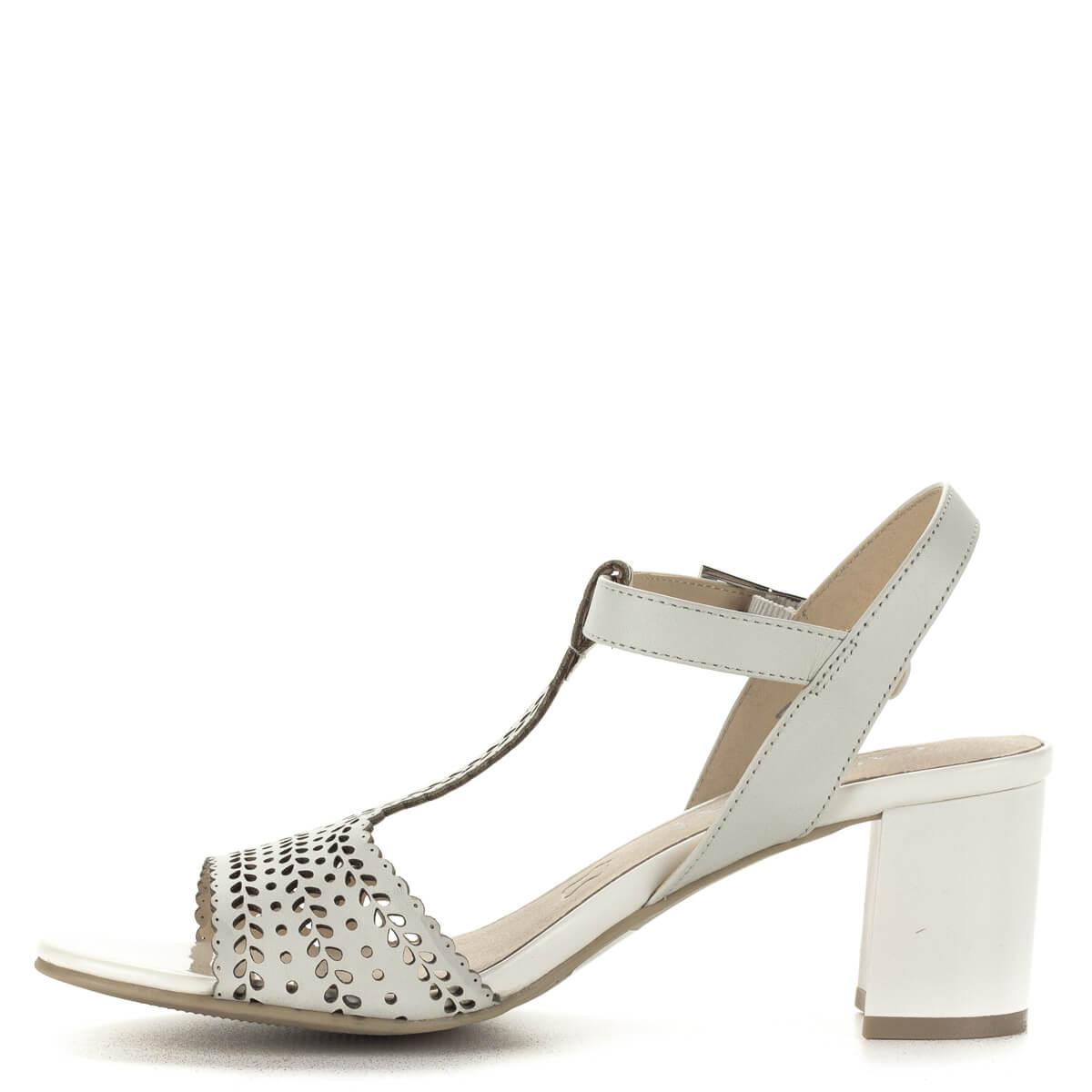 Caprice Szandál női fehér – Cipő Divat