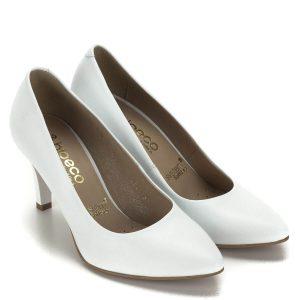 Esküvői cipő - Magas sarkú fehér cipők dd2e3310d4