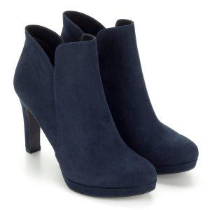 Tamaris platformos bokacipő kék színben 24e1a7c8a7