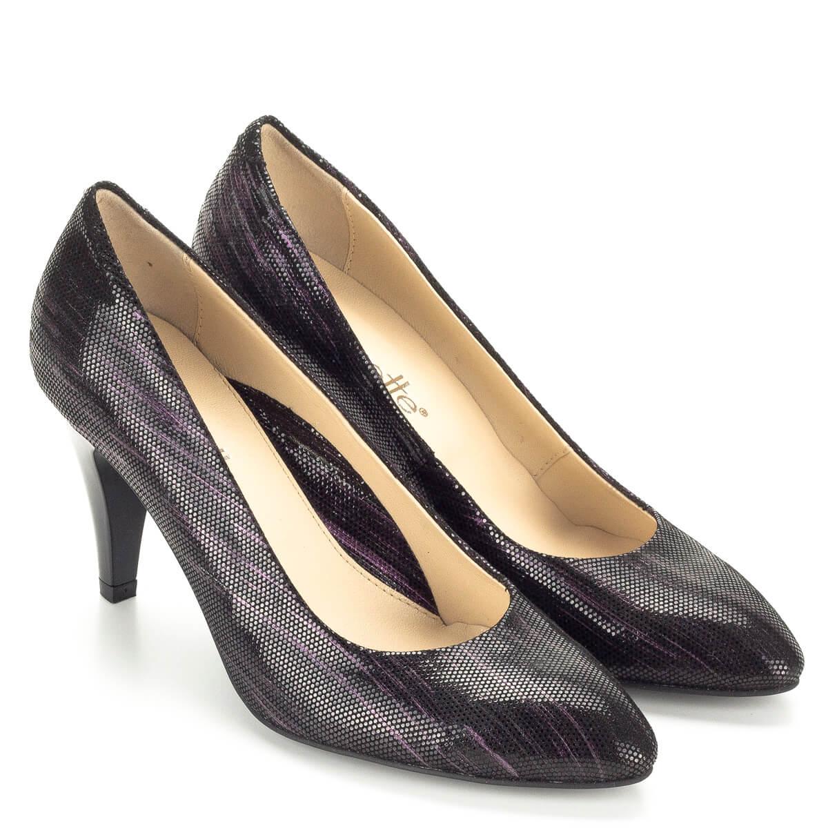 8 és Clarette felsőrésszel bőr magas cm tűsarkú cipő béléssel sarokkal 8xw6Eqf