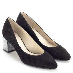 Fekete Anis velúr bőr cipő