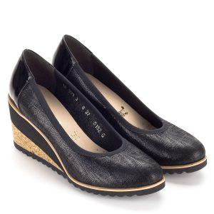 46b0653e2385 Éktalpas cipő - Telitalpú női cipők, bőr éktalpú cipők