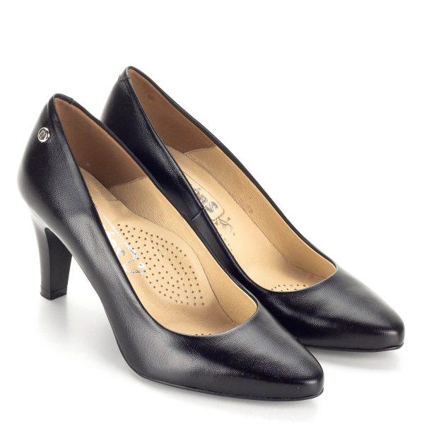 Fekete Stragórs magassarkú cipő