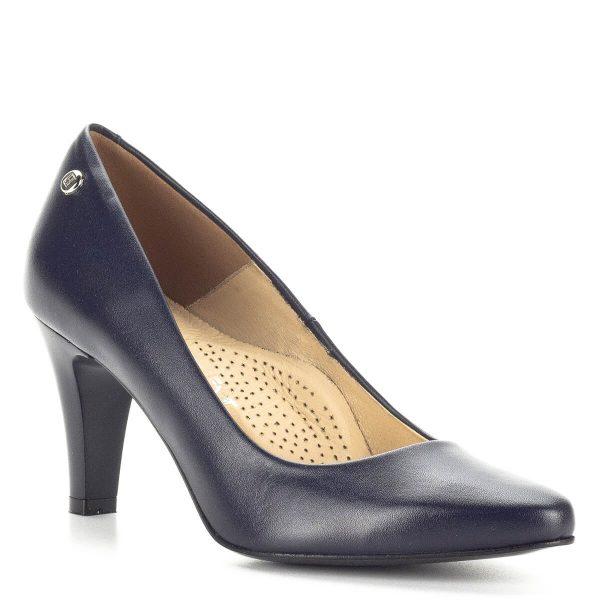 Kék Stragórs magassarkú cipő