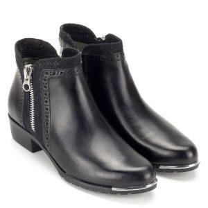 Fekete Caprice bokacsizma - Rövid szárú csizma - Caprice bokacsizma - Caprice 9-25403-21 919