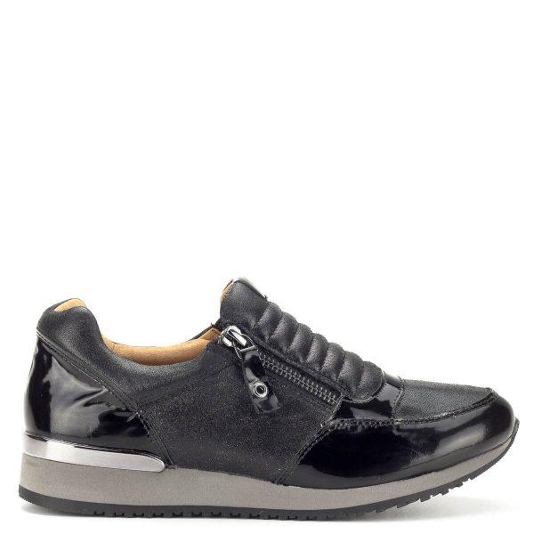 Fekete sportos Caprice női cipő - Caprice cipők - Utcai cipők - Caprice 9-24605-21 091