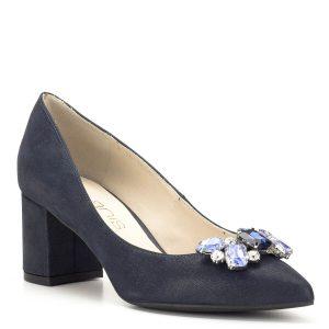 Kék Anis köves alkalmi cipő - Anis cipők - Körömcipő - Női alkalmi cipő