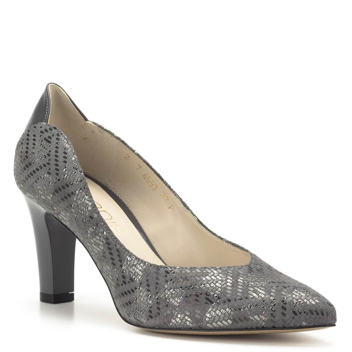 ... Szürke Anis magassarkú bőr cipő - Magassarkú cipők - Anis cipők - Anis  4539 GREY 343 ... fd6cae1c2e