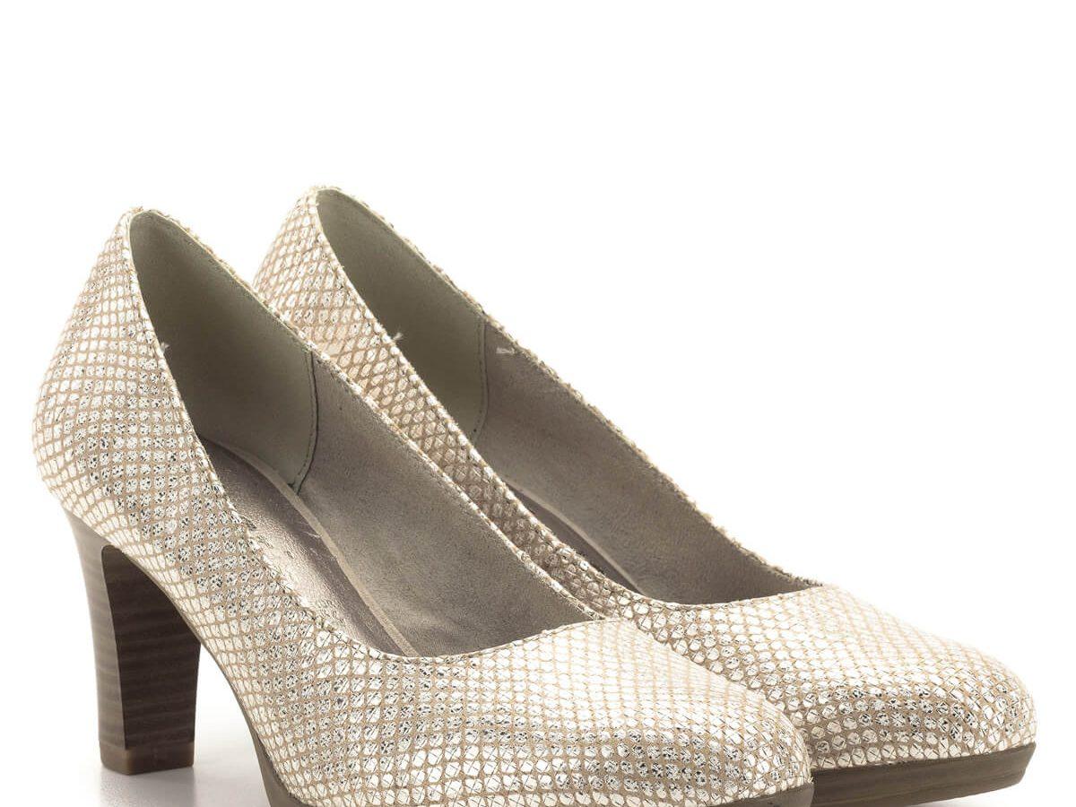 Tamaris platformos női cipő
