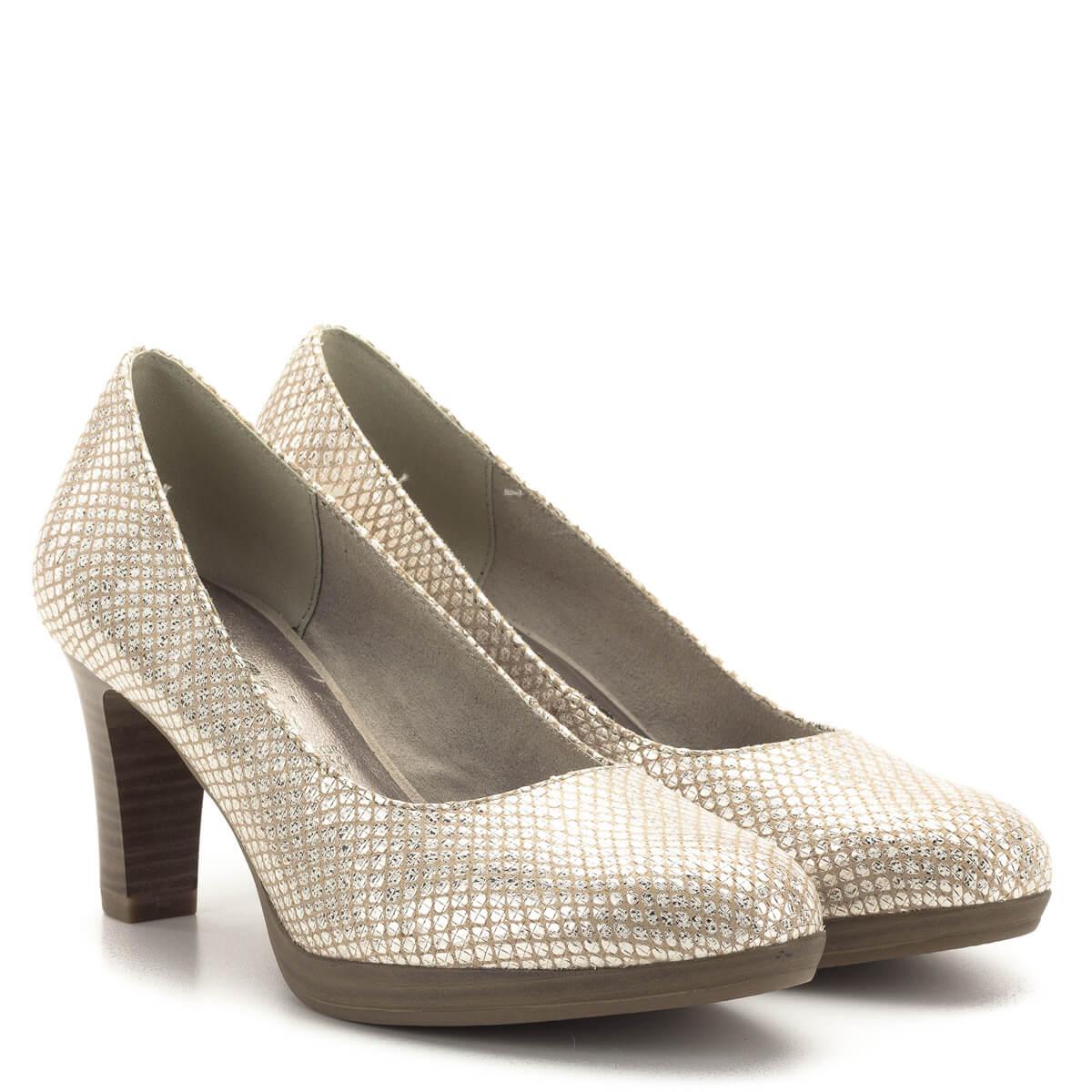 f2a3eb4fc23b Tamaris platformos női cipő 7,5 cm-es sarokkal,