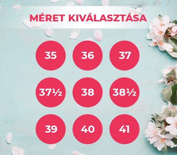 Válassza ki cipőméretét! ChiX.hu Cipő Webáruház ... 772ee50302