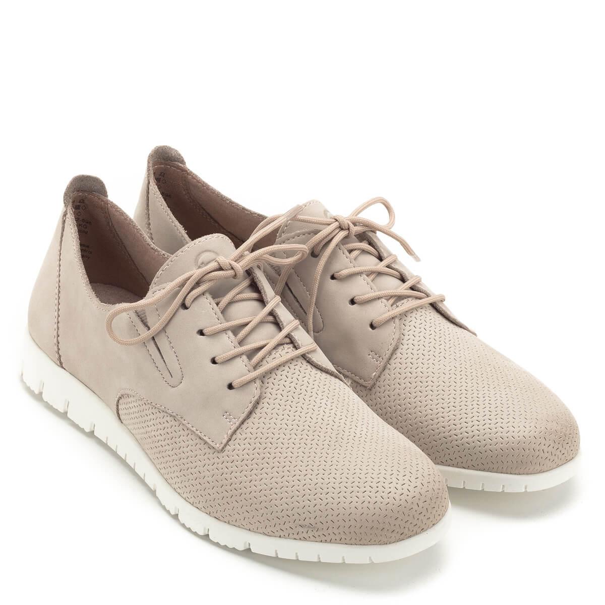 b0d7892d14c8 Tamaris cipő púder rózsaszín színben, kivehető talpbéléssel. A cipő nagyon  puha nubuk bőrből készült ...