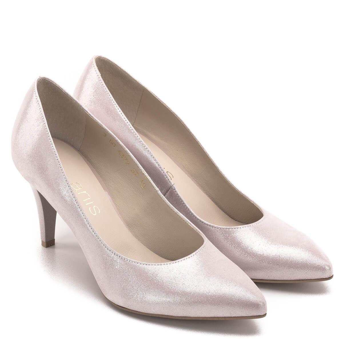 fa0ab4d88a Elegáns körömcipő különleges; Anis cipő 7,5 cm magas sarokkal, púder  rózsaszín színben. Elegáns körömcipő különleges ...