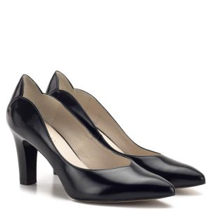 611f376d80 Anis cipő - Elegáns fekete magassarkú Anis cipő 7,5 cm-es sarokkal.
