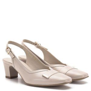 94dd6b4d1e Anis szandálcipő - Elegáns női szandálcipő az Anis márka kínálatából, bézs  színben. Elején rátét