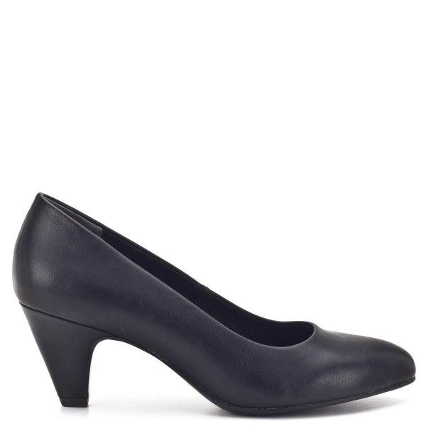 Tamaris cipő 6 centis sarokkal, fekete színben. Puha párnázott talpbéléssel készült, sarka stabil, magassága kifejezetten kényelmes, ugyanakkor nagyon csinos. Ez a cipő a hétköznapok tökéletes darabja, a klasszikus fazon munkahelyen, rendezvényen egyaránt megállja a helyét - Tamaris 1-22416-23 020